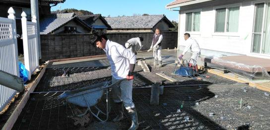 香川県 三豊市S様邸 リフォーム 外構 土間コンクリート