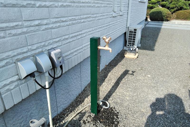 香川県 三豊市S様邸 リフォーム 外構 立水栓