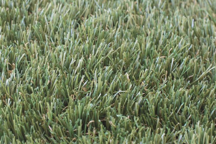 人工芝の拡大写真